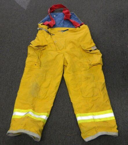 FYREPEL Turnout Gear Firefighter Bunker Pants w/ Suspenders Size X-LARGE #3