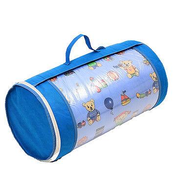 Kinderbettmatratze Babymatratze 60x120 cm Kinder-Rollmatratze mit Reisetasche (Kinderbett Mit Tasche)