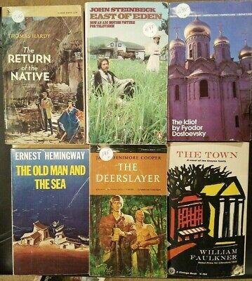Lot of 63 CLASSICS / LITERATURE paperbacks