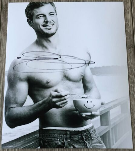 ERIC DANE SIGNED AUTOGRAPH GREY'S ANATOMY MCSTEAMY 8x10 PHOTO w/PROOF