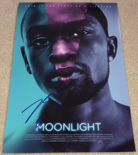 BARRY JENKINS SIGNED AUTOGRAPH MOONLIGHT 12x18 PHOTO w/EXACT PROOF