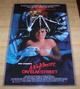 Nightmare on Elm Street Freddy Krueger 11X17 Movie Poster Credits No Border