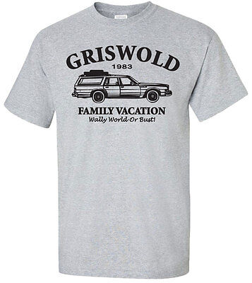 Wally World T Shirt (Griswold Family Vacation Wally World Bust T-shirt -Merry Christmas Clark Funny)