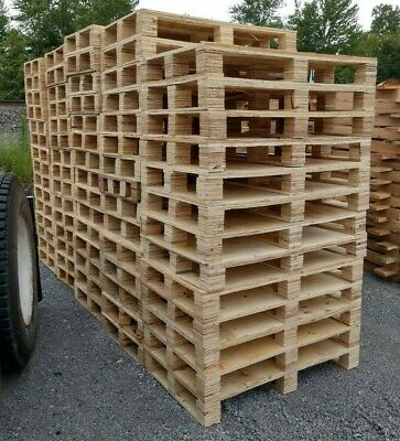 24x42 Cheap Recycled Used Wooden Pallets - Pickup In Butler Indiana Or Freight