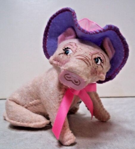 "Annalee SPRING PIG 4"" 2018 NWT"