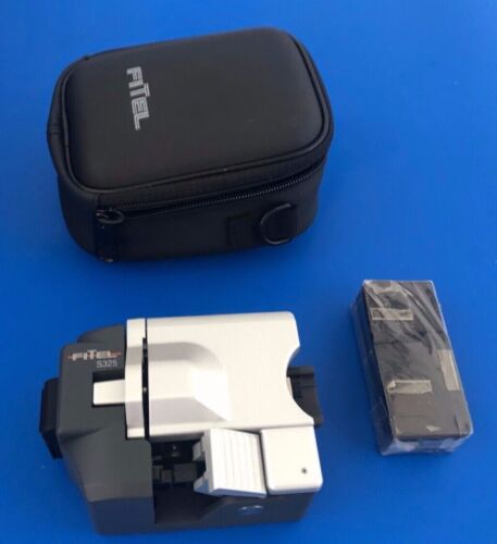 Fitel S325A High Precision Fiber Cleaver w/ extra bins