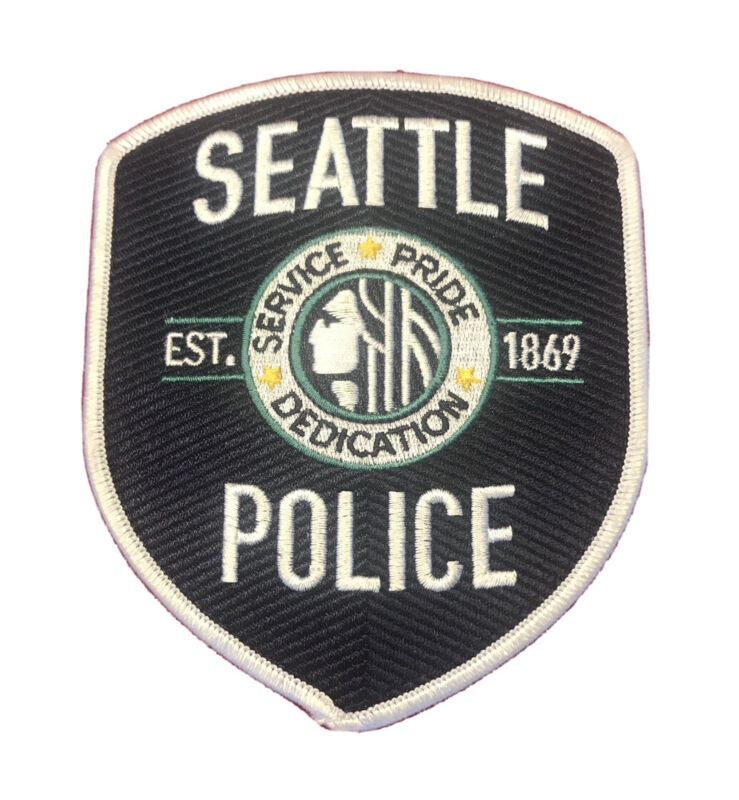 SEATTLE POLICE DEPT PATCH RARE WASHINGTON WA KING COUNTY SPD