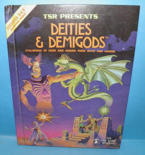 D&D Dungeons & Dragons Deities & Demigods 128 Pages TSR #B