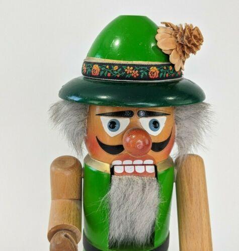 Vintage Steinbach Volkskun Hohenhameln : Green Oktoberfest Nutcracker : Germany