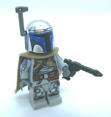 Lego Custom BOBA FETT 1313 Concept Minifigure -Full Printed Body! Blaster, Cape - Boba Fett Blaster