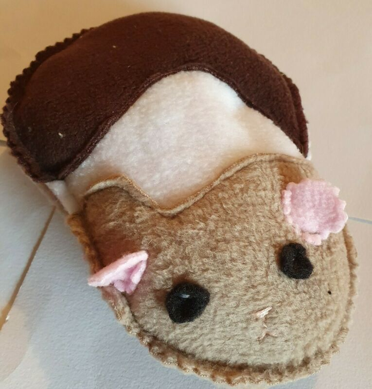 Fleece+design+guinea+pig+popcorn+cushion+bed+toy+Cage+cosy+%26+comfy.+Rat+ferret+
