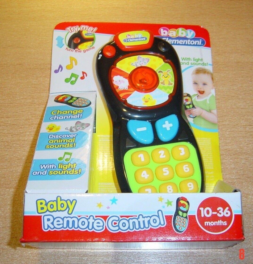 Clementoni® baby Fun Fernbedienung,Sound & Light,10-36 Monate,NEU!