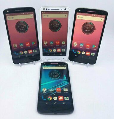 Motorola Droid Turbo 2 - 32GB - Unlocked - Excellent to Fair Condition