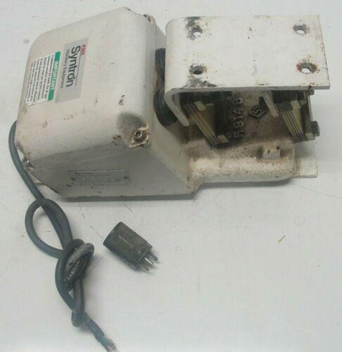 Fmc Syntron Magnetic Feeder Model F010 Vibratory  Vibrator 120v Tested