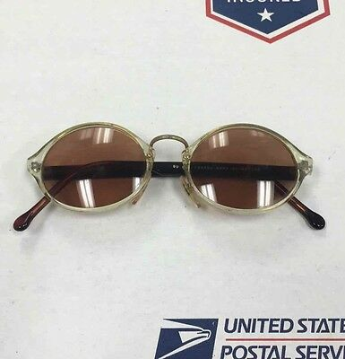 GUESS Eyewear SONOMA BCRY Clear Oval Smoke Tint SUNGLASSES GU 870 47-21-145
