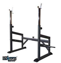 Squat rack Adjustable width & height + Plate Holders NEW Malaga Swan Area Preview