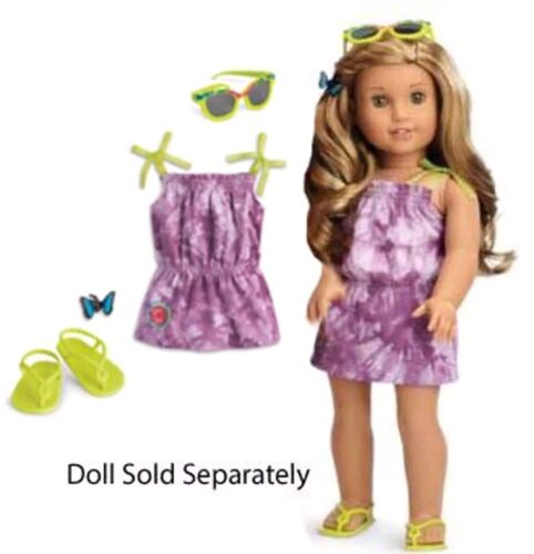 American Girl Lea s Beach Outfit Brand New  - $14.50