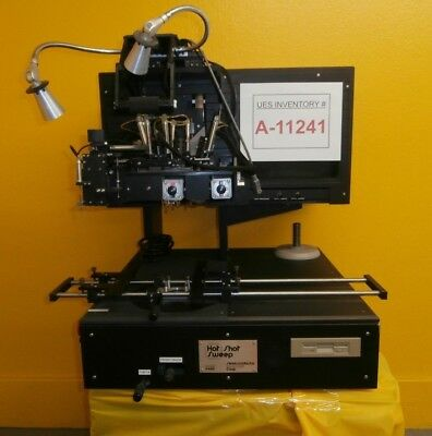 Semiconductor Equipment 4460 Hot Shot Sweep Rework Station Missing Parts As-is