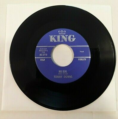 Tommy Downs - Big Deal / Why Do Today - 45rpm - King 5770 ()
