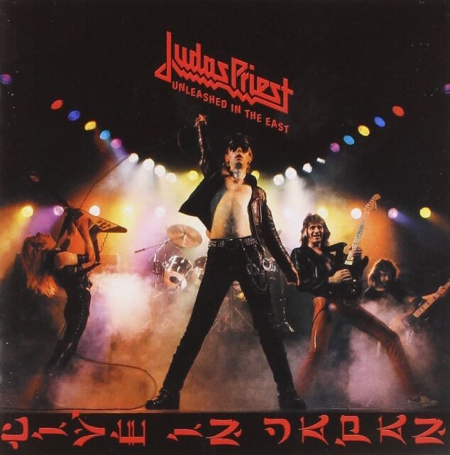 """JUDAS PRIEST """"UNLEASHED IN THE EAST"""" CD REMASTERED NEU!"""