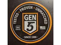 3 Glock Gen 5 Firearm Gun Shot Show 2019 Tested Proven Unmatched Sticker//Decal