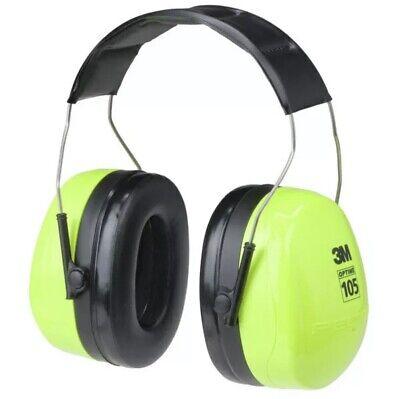 Peltor Optime 105 Hi-viz Earmuffs Nrr 30 H10ahv H10ahv - 1 Each