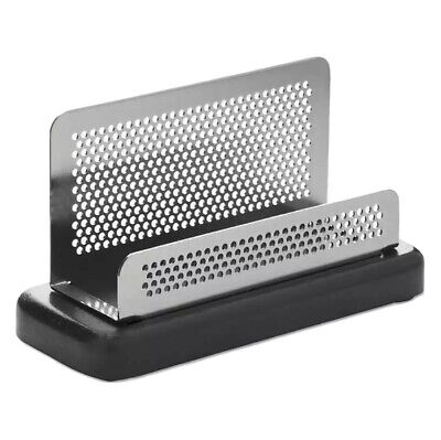 Rolodex Distinctions Business Card Holder Capacity 50 2 14 X 4 030402235786