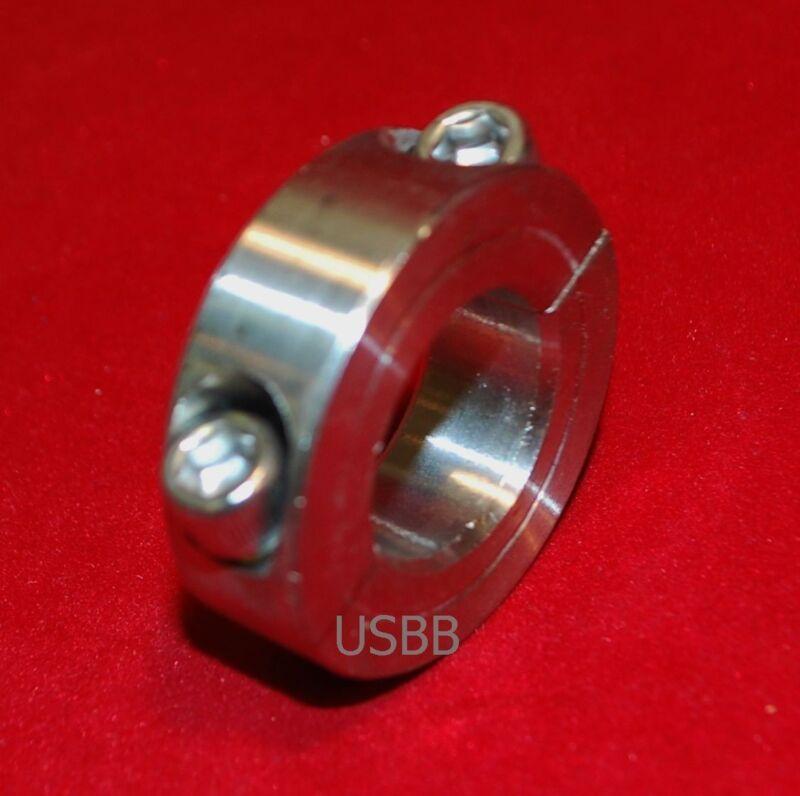5/8 Inch Stainless Steel Double Split Shaft Collar 2 Piece SS Shaft Collar 1U13