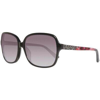GUESS Oversized Rectangular Floral Animal Print Sunglasses (Print Sunglasses)