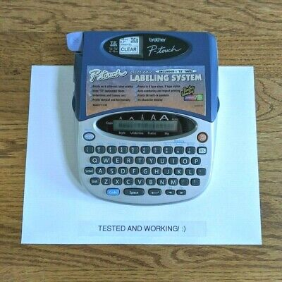 Brother P-touch 1750 Thermal Label Printer
