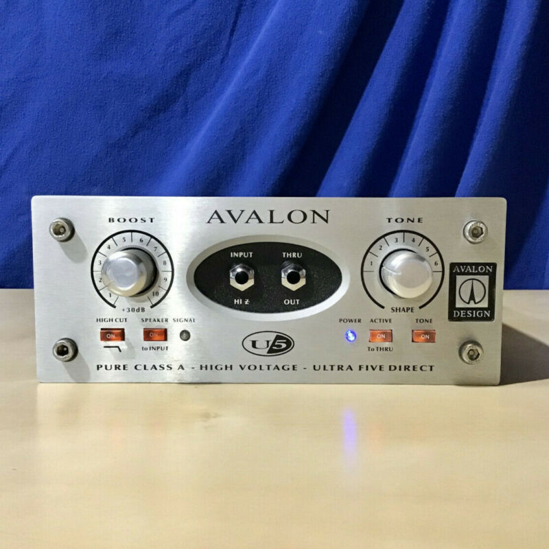 Avalon U5 Direct Box & Instrument PreAmp - for sale by original owner -