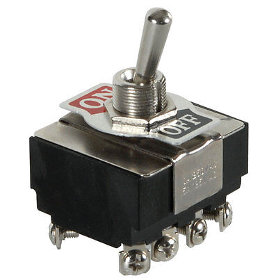 4pst Heavy Duty Toggle Switch