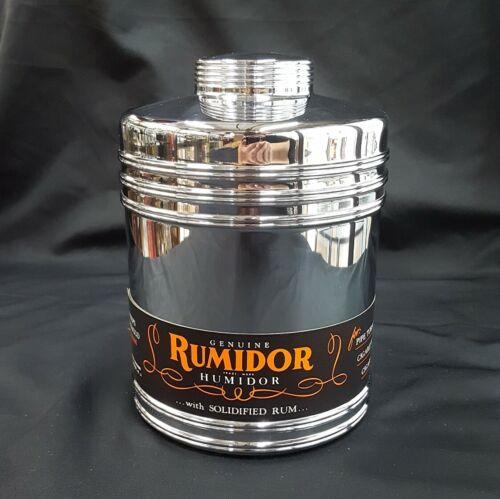 NOS Large Genuine Rumidor Humidor Keeps Tobacco Fresh with Original Box