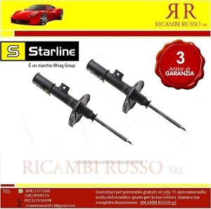 COPPIA-AMMORTIZZATORI-TL-ST027-8-ANT-FIAT-GRANDE-PUNTO-1-3D-MJ-KW55-gt-66