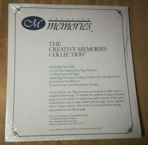 Creative Memories - Page Protectors Original Style - 12x12
