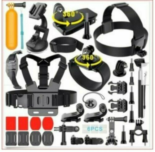 GoPro HERO 8 Black Action Camera Accessories GoPro Hero 9,8,7,6,5 (50 in 1) K-2