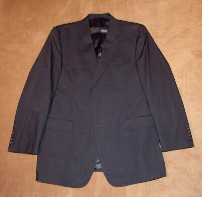New Men's Jos. A. Bank Executive Poplin Collection Suit Jacket Size 46L Navy