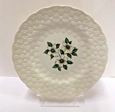 Spode CANADIAN PROVINCIAL FLOWERS Luncheon Plate (Dogwood) More items available