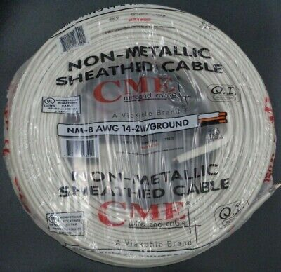 142 Romex Indoor Electrical Copper Wire Cable W Ground 14-2 Awg Guage Nm-b 250