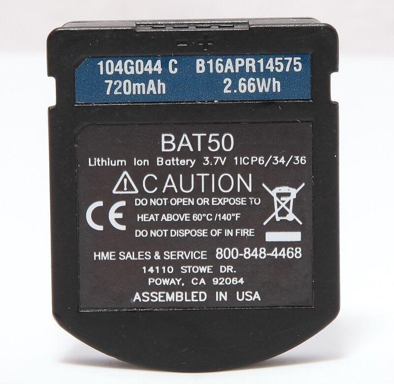 USED HME BAT50 Hi Capacity 720mAh Battery Pak for HS6100 HS6200 Wireless Headset