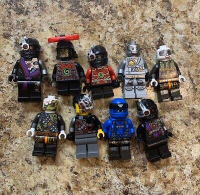 LEGO NINJAGO MINIFIGURE LOT RARE