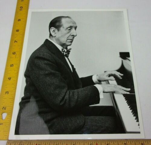 Vladimir Horowitz Pianist piano photo ORIGINAL 1950s