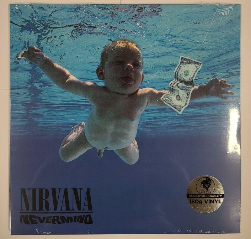 Nirvana – Nevermind - LP Vinyl Record - NEW Sealed - Grunge Music - reissue