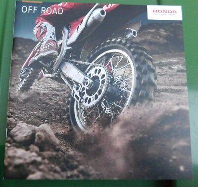Honda CRF Off Road Brochure 2017 - CRF 450R 250R 150RB 450RX 250RE 250X 250XRL +
