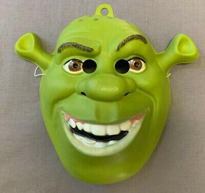 Shrek Mask Halloween (SHREK OGRE HALLOWEEN PVC MASK ONE SIZE FITS MOST CHILD AND)