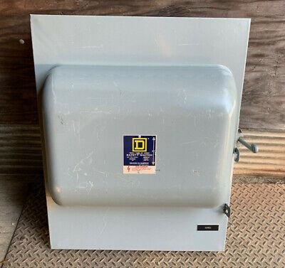 92454 Square D 200 Amp 240v 3p 4w Manual Transfer Switch Non Fused Nema 1