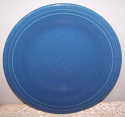 "NEW FIESTAWARE PEACOCK BLUE 10.5"" DINNER PLATE FIESTA HLC Retired Color"