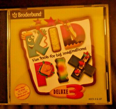 Art Software for Kids: Kid Pix Deluxe 3 Win/Mac,