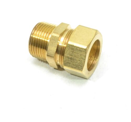"7/8"" Tube OD Compression to 3/4"" Male NPT Fitting Adapter Connector"