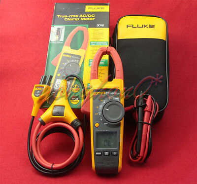 Fluke 376 Wireles True-rms Auto Clamp Meter Multimeter Tester Iflex Probe New